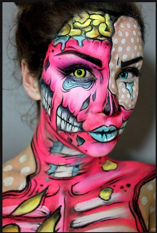 Creepy Facepaints!
