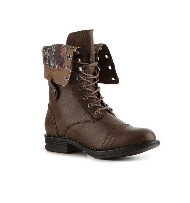 Brown Combat Boots Cheap - Yu Boots