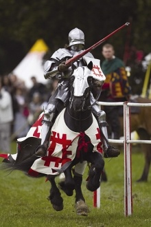 A Grand Medieval Joust | English Heritage @ Kenilworth Castle, Warwickshire