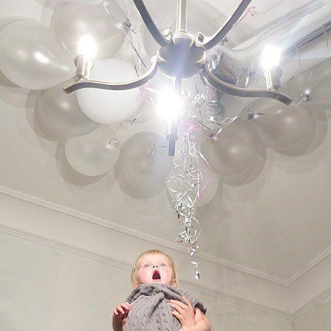 Серое платье серые шары серебряные ленты и #sagashichkova by shichkova