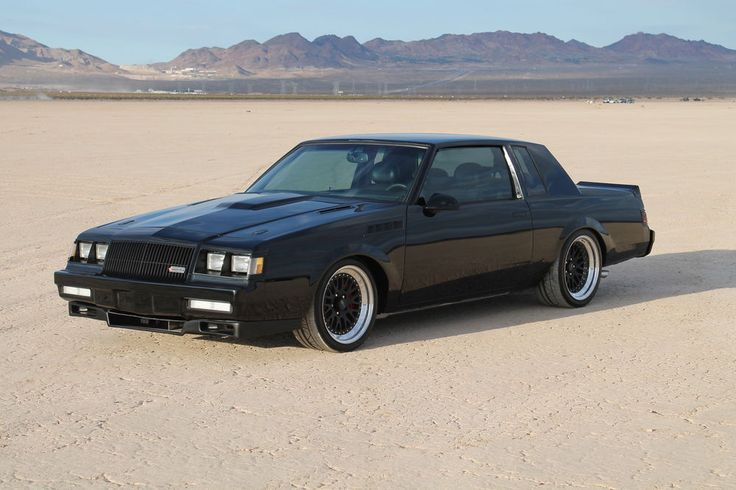 '87 Pro Touring Grand National . I want to own this car