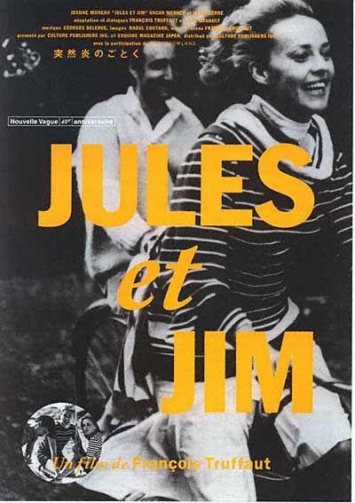 Jules et Jim by François Truffaut