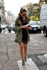 Resultado de imagen para chaqueta militar mujer outfit