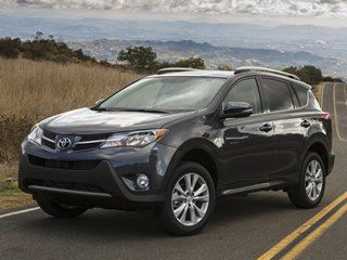 """NOT HYBRID - 10 Most Fuel-Efficient SUVs of 2013 #10 2013 Toyota RAV4 The self-proclaimed """"original crossover SUV"""" returns for 2013 boasting a full suite of Toyota's latest high-tech conveniences and sleek new styling inside and out. With the optional V6 relegated to the past, the RAV4 refocuses its efforts on fuel efficiency with the help of improved aerodynamics and a new 6-speed automatic gearbox. 26 mpg combined (24 city, 31 hwy)"""