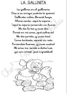 CHELUESPECIAL: FICHAS DE POESIAS INFANTILES PARA COLOREAR .EL RINCÓN DE GLORIA FUERTES