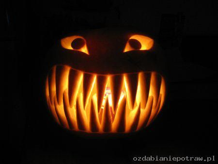 Ozdabianie potraw » Blog Archive » Dynia na Halloween
