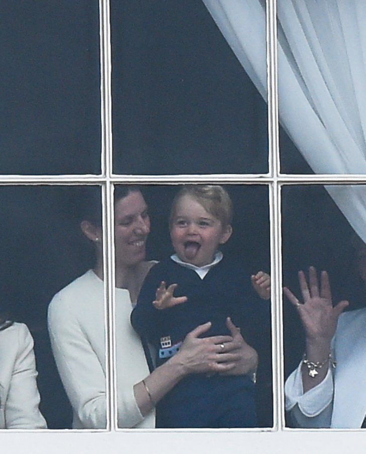 Pin for Later: Prince George Steals the Spotlight on the Queen's Big Day