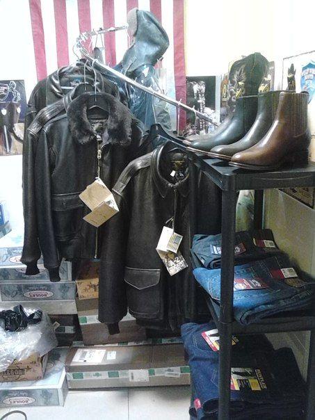 Ковбойские сапоги (Киев). Куртки летные США.