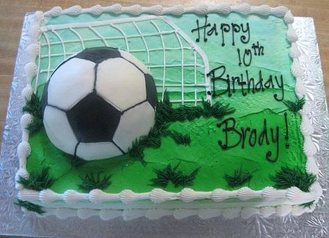 Image detail for -Soccer Birthday Cake | Birthday Party Ideas