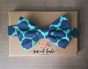 Patterned Bow Tie, Boy's Bow Tie, Navy Patterned Bow Tie, Navy Wedding,Navy Ring Bearer Bow Tie,Navy Wedding,Navy Bow Tie,Children's Bow Tie