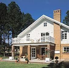 Resultado de imagem para casa estilo americano fachadas for Fachadas de casas estilo americano