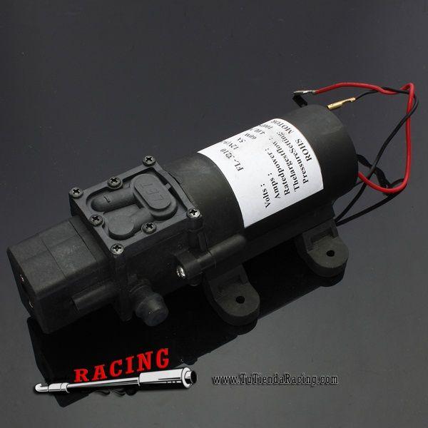 Bomba de Agua de Diafragma de Alta Presión 100PSI Para Coche Caravana Bote Barco -- 17,65€