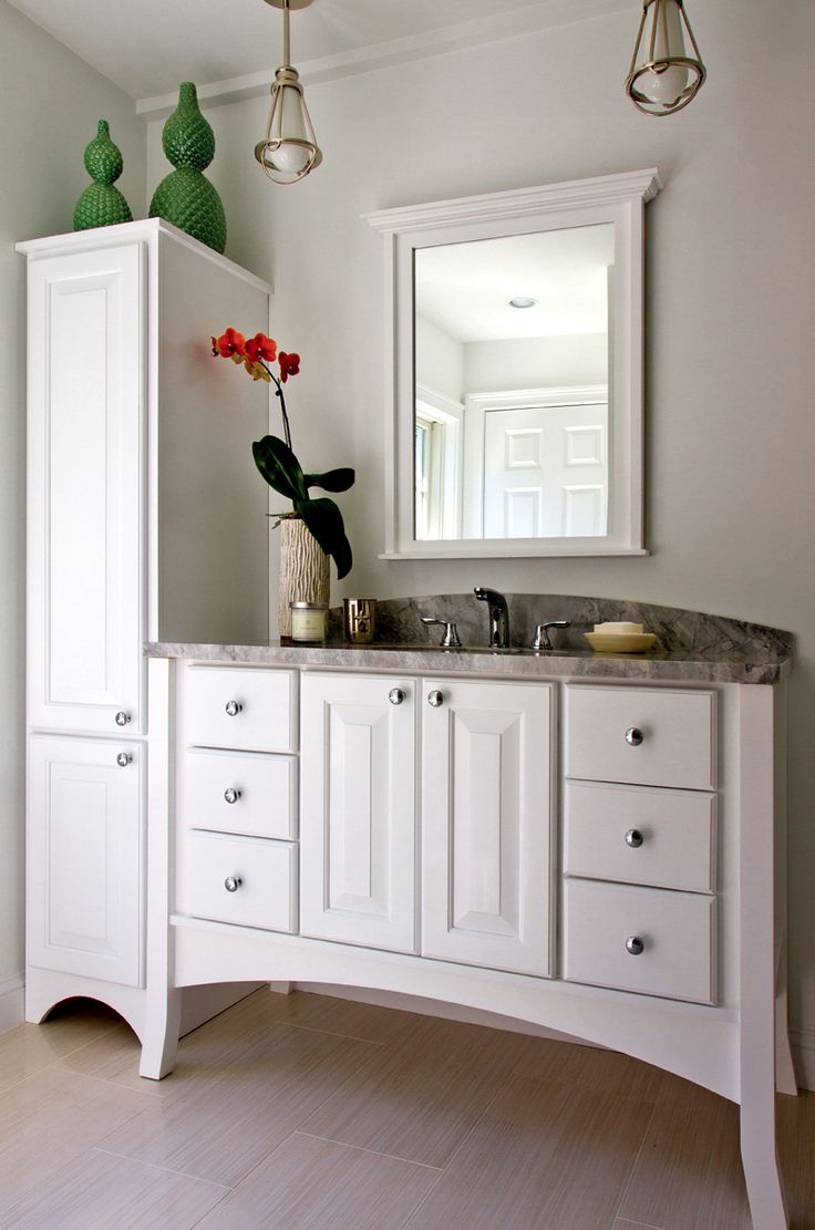 42 best Inspire | Bath images on Pinterest | Bathroom cabinets ...