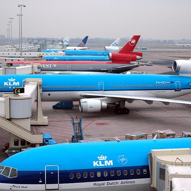 KLM, Schiphol, Amsterdam, The Netherlands
