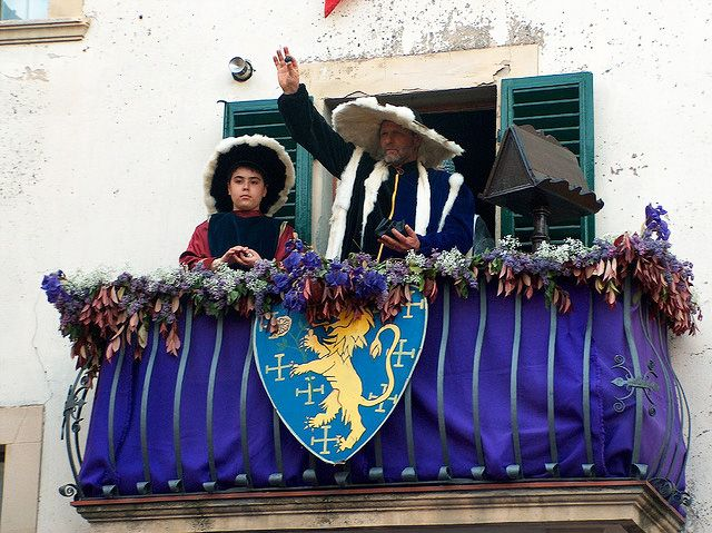 25 APRILE - FESTA DELLA STAGION BONA  - The day the inhabitants of Panzano act out an exciting historical event.
