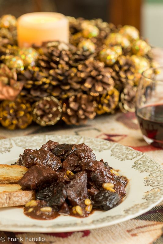 Sweet and Sour Wild Boar (Cinghiale in agrodolce)