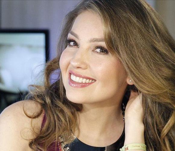 Thalía presenta en España su nuevo disco, 'Habítame siempre' #cantantes #música #famosas