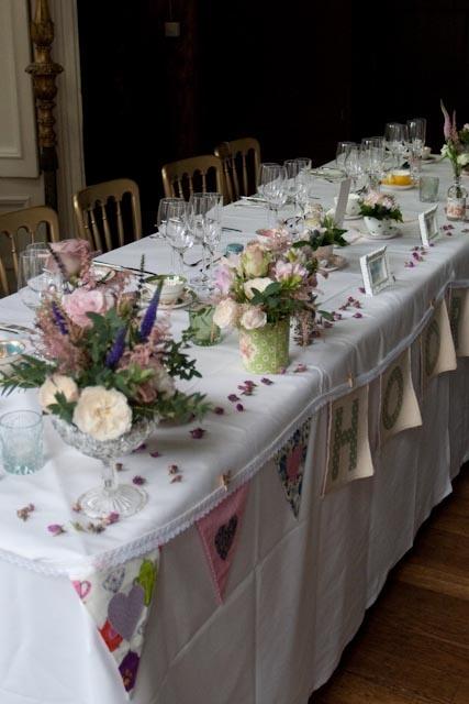 Lorna & Alex's tea party wedding; 100% chintz! | Vintage Flair – Vintage Tableware Hire & Styling