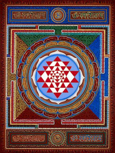 Sri Yantra Om Namah Shivaya