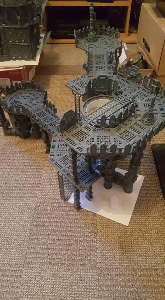 Adeptus Sector | Warhammer Scenery DIY | Warhammer terrain