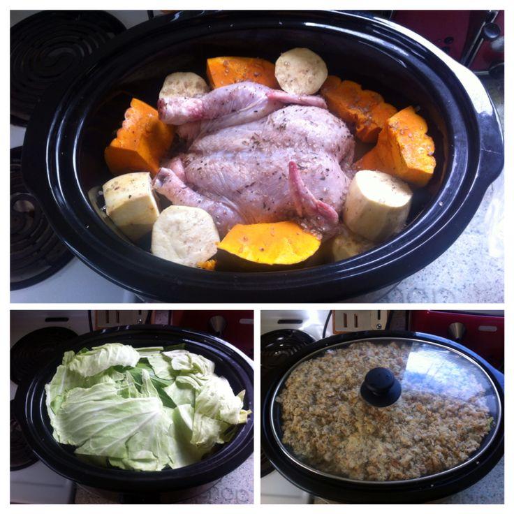 Crockpot Hangi Chicken