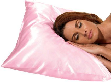 Sleeping on satin pillow covers is known to reduce hair breakage due to friction. Cotton and other materials are quite rough in texture. Due to which they also cause more friction against your hair. #DIY #diybeauty  #jadabeauty #homeremedy #YoungLiving #Beauty #LongHair#Homemade #HairCare #Recipe#HairShampoo #Healthy #hairshampoo #wishtrend #helloeverybody#hair #hairconditioner#hairshampoo #hairtreatment#honey #beauty #beautysecret#hairsolution