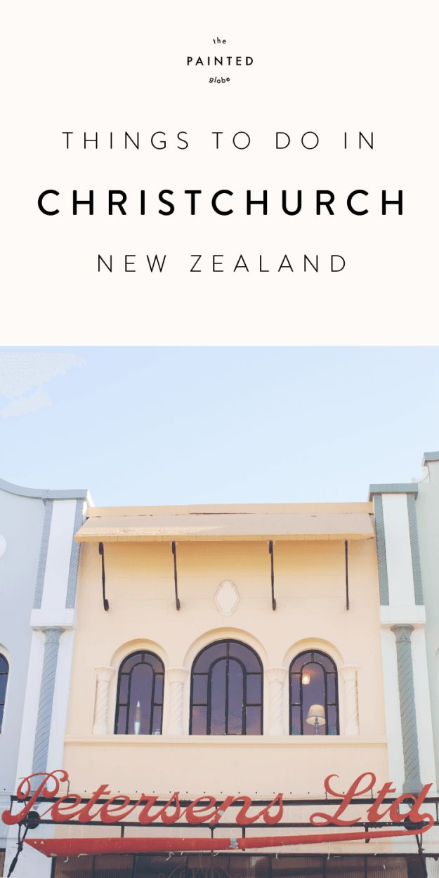 The Painted Globe Travel Blog - One Day in Christchurch New Zealand – 5 things to do.  Even if your visit to Christchurch is as flying as ours was, there are still some awesome sights to squeeze in! Including Riccarton House, the colourful New Regent Street and Cathedral Square.