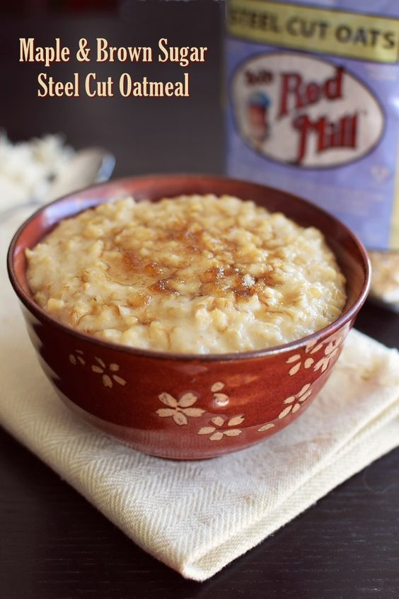 Maple & Brown Sugar Steel Cut Oatmeal or Griddle Cakes - The BEST way to cook steel cut oats with heat & eat, make ahead, and griddle cake options. Dairy-free, gluten-free, vegan, allergy-friendly recipe.