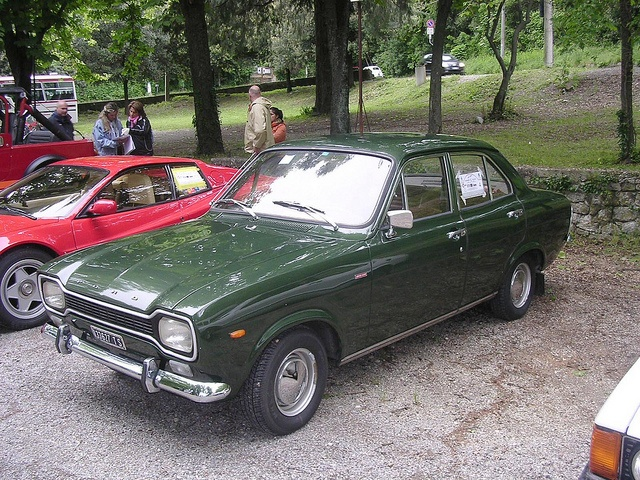 Ford Escort 1300 GT 1971 Sistiana Mare 1 by inBUSclub, via Flickr - My first ever car cost L700 in 1969