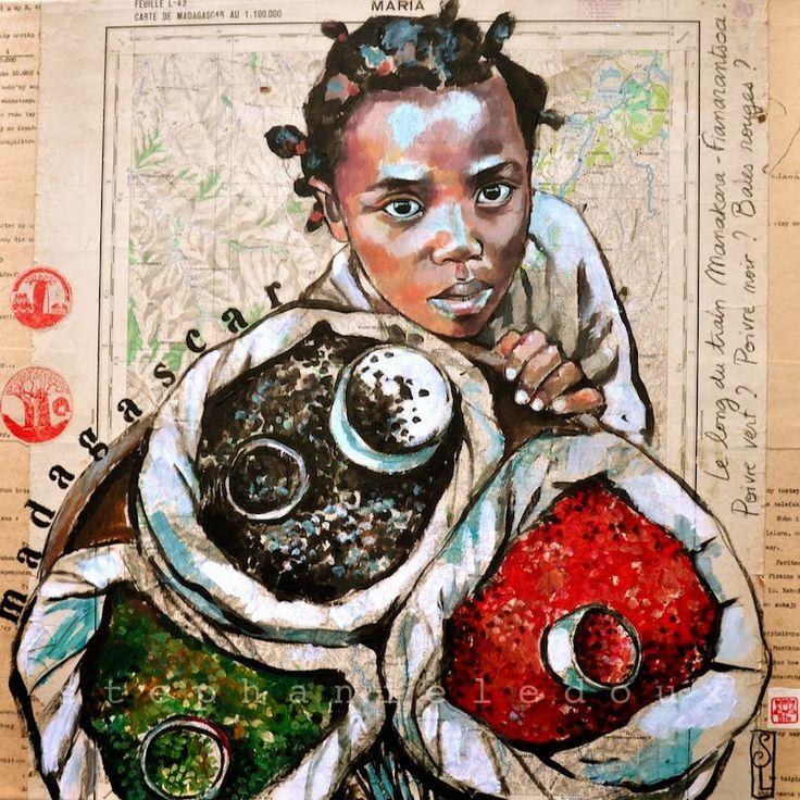 Stéphanie Ledoux - Carnets de voyage: Train entre Manakara-Fianarantsoa (2/2)