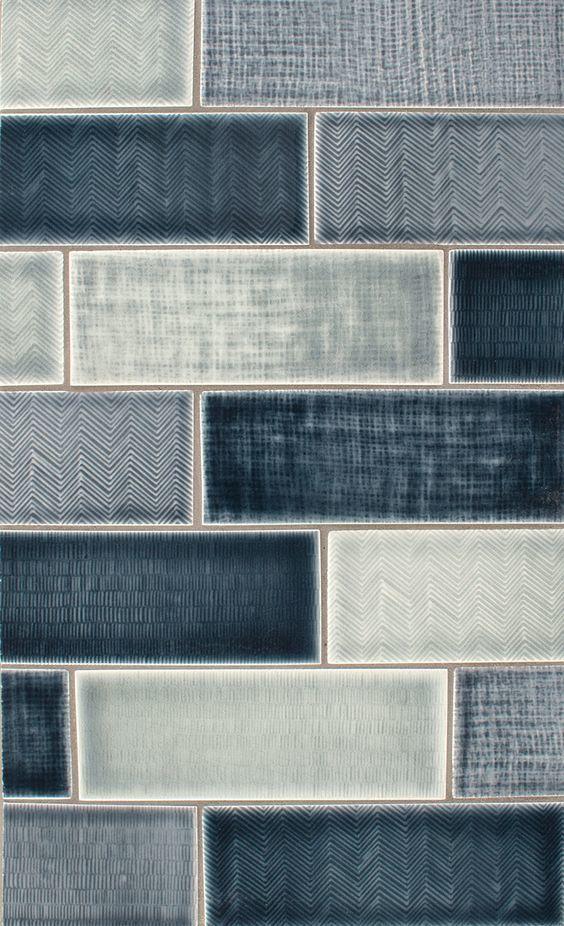 Blue tile looks fantastic as a liner