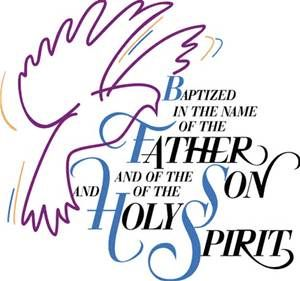Father Son Holy Spirit Verse - Bing images