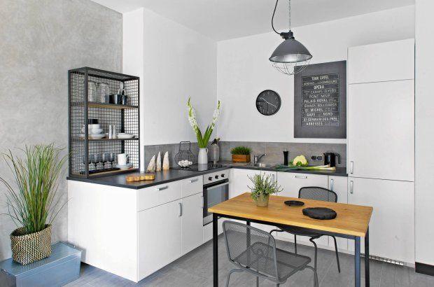 Samodzielne skomponowanie zabudowy z gotowych elementów z IKEA znacznie obniż   -> Kuchnia Ikea Koszty