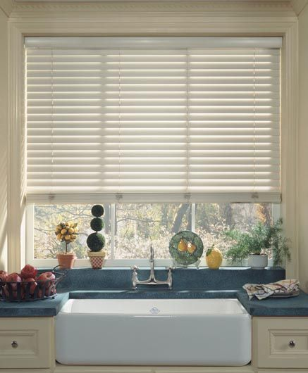BEYOND WOODS Blinds - The smooth finish of Beyond Woods Venetian Blinds provides a practical alternative to wooden blinds.