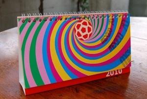 メキシコ・ヴィンテージ広告のカレンダー(2010年)