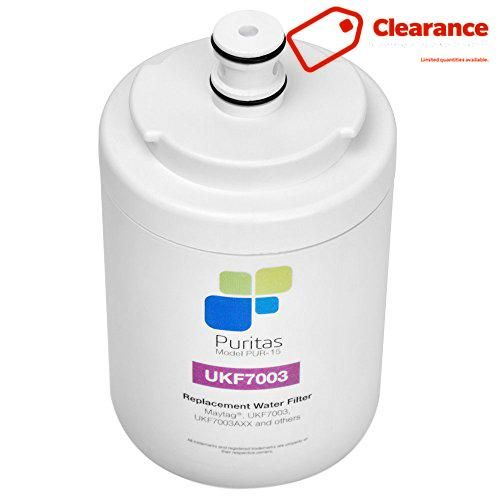 #checkitout The Puritans PUR-15 is a refrigerator water filter that replaces the popular #UKF7003 style #filter found in some Maytag refrigerators. The PUR-15 als...