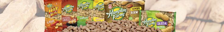 In-Shell Peanuts <p>Hampton Farms' peanuts are 100% USA grown and roasted and flavored to order.  Hampton Farms is America's #1 In-Shell peanut brand.  You can trust that our In-Shell peanuts will have the best fresh-roasted peanut flavor time after time.  We are dedicated to serving your family the same quality products that we serve our own families. Peanuts are a great snack choice, offering more protein than any other nut. Packed with nutrients, peanuts and peanut butters are delicious…