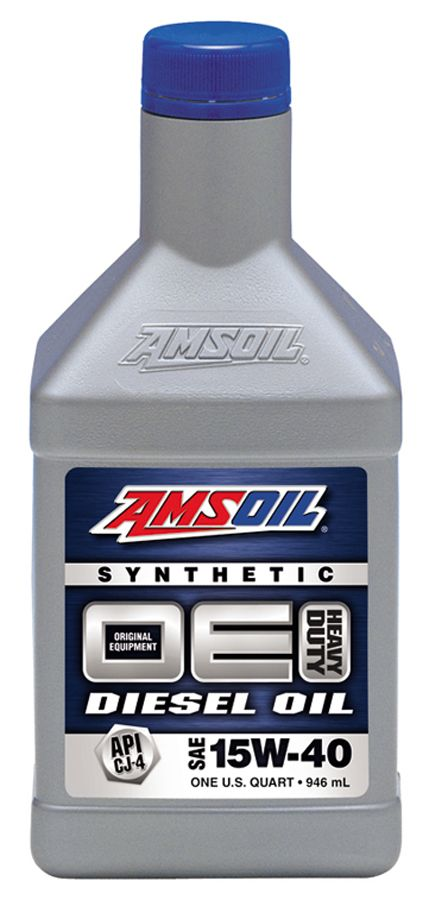 See AMSOIL 15W-40 OE Diesel Oil at http://shop.syntheticoilandfilter.com/motor-oil/diesel/oe-15w-40-synthetic-diesel-oil/
