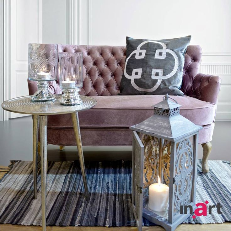 A couch without a pillow is just like me without you –simply not complete! Be inspired at www.inart.com