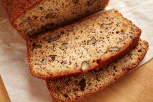 Easy Banana Bread recipe Can't wait to try this.  Will be using my granulated monk fruit sugar substitute, 1/2 and 1/2 with the sugar.