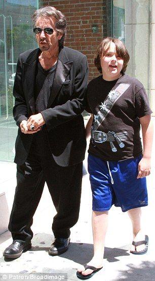 Al Pacino & son   Celebrity Kids   Pinterest   Sons ... Al Pacino