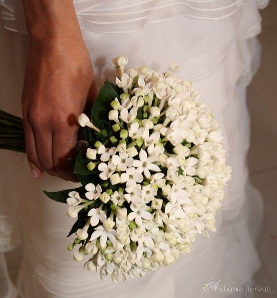 Tulle e confetti - Bouquet monofiore bovardia - Alchimie floreali