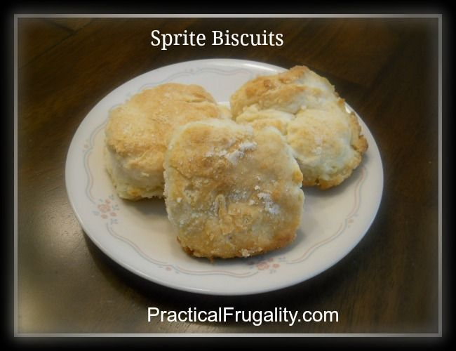 These Sprite Biscuits require just FOUR ingredients and are my family's FAVORITE choice of bread at dinner!