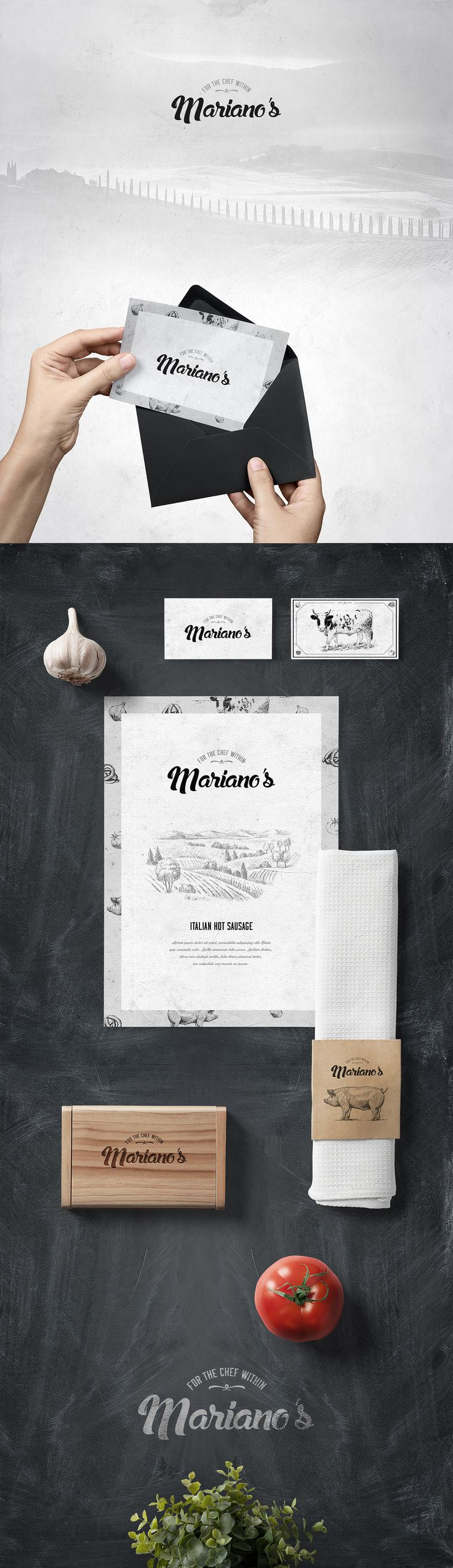 Mariano's Brand Meats on Behance