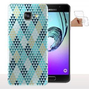 Coque Diamants Bleus Samsung Galaxy A5 (2016) - Housse smartphone Gel