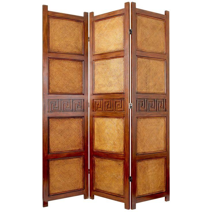 Oriental Furniture Peiking Screen Room Divider | from hayneedle.com