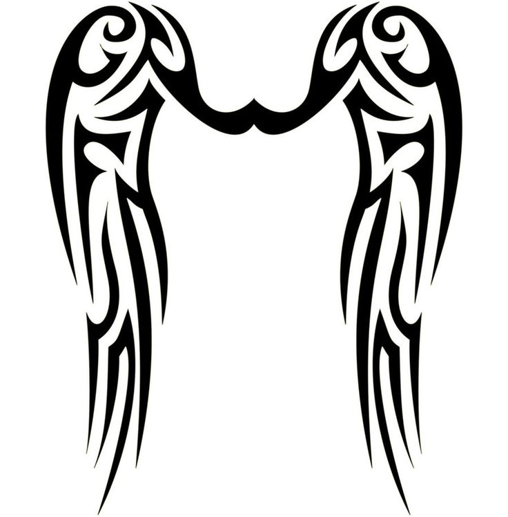 28 best images about wings on pinterest initials wing tattoos and tribal wings. Black Bedroom Furniture Sets. Home Design Ideas