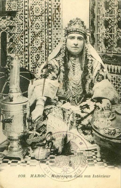 Marokaanse bruidsjurk van vroeger