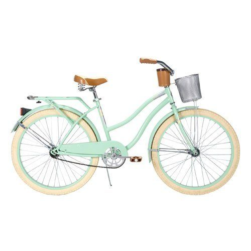 Special Offers - Huffy Womens Deluxe Cruiser Bike Mint Green 26-Inch/Medium - In stock & Free Shipping. You can save more money! Check It (June 15 2016 at 08:57PM) >> http://bmxbikeusa.net/huffy-womens-deluxe-cruiser-bike-mint-green-26-inchmedium/