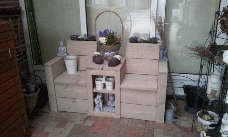 Garden Seats Pallets And Wood On Pinterest